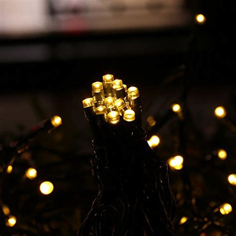 Icicle Solar Christmas String Lights 73 Ft 200 Led Solar Icicle Lights