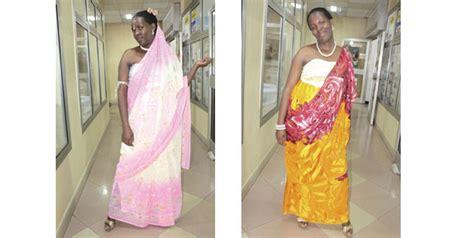 Purple Drape Changing Face Of Umushanana The Rwandan Traditional Dress