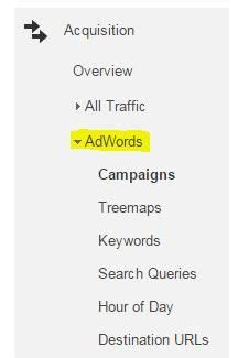 acquisition section i ve installed google analytics now what mainstreethost