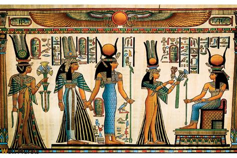 Egyptian Wall Mural wall murals egyptian historical murals
