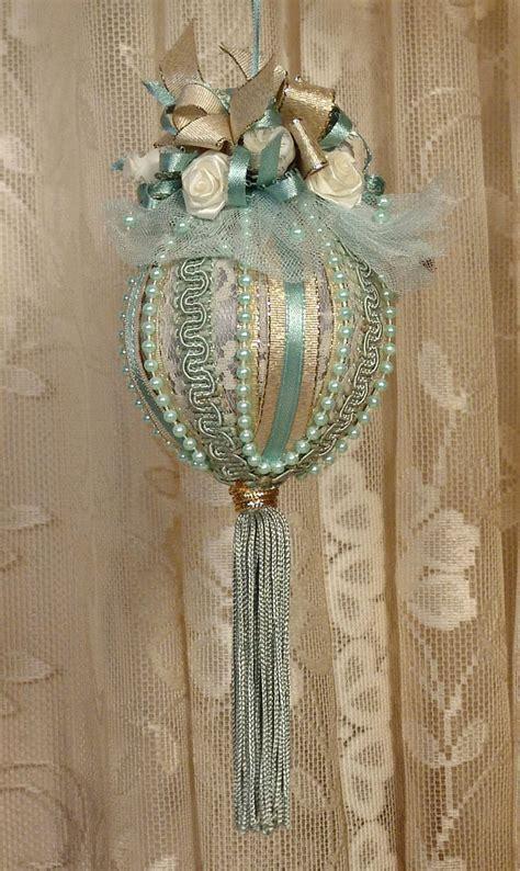 handmade victorian christmas ornament keepsake vintage