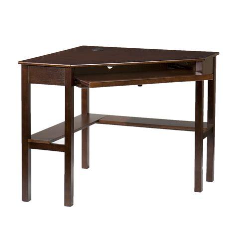 espresso corner desk southern enterprises desks computer