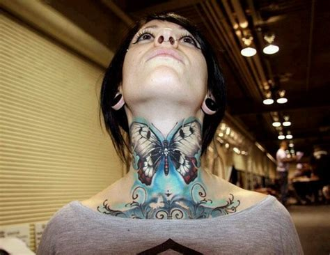 butterfly tattoo on the neck butterfly tattoo designs for women