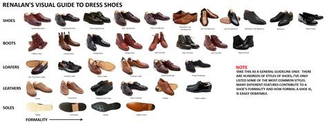 types of s dress shoes balance your with rex