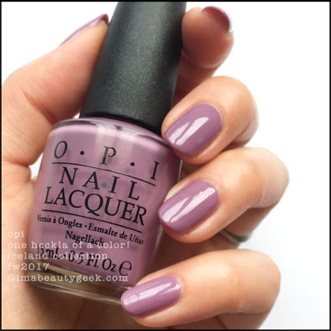 opi fall colors opi iceland swatches and review fw 2017 collection