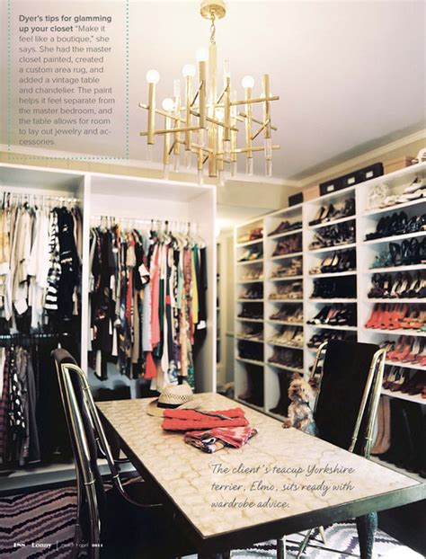 walk in the room in gold closet table contemporary closet lonny magazine