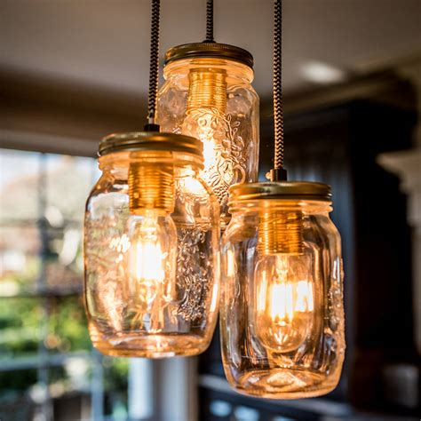 preserve jar pendant light by all things brighton