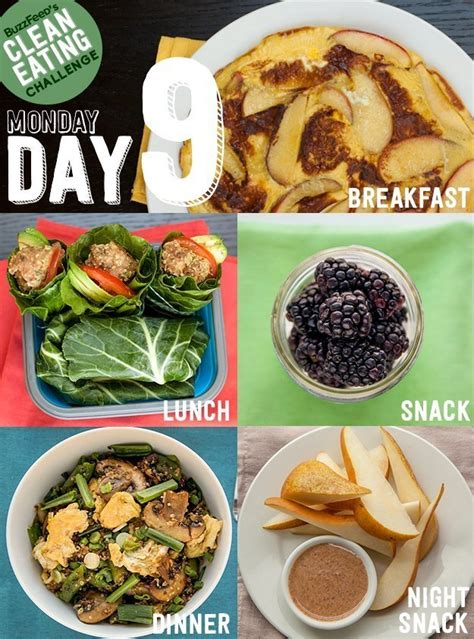 Buzzfeed Detox Plan day 9 of the clean challenge
