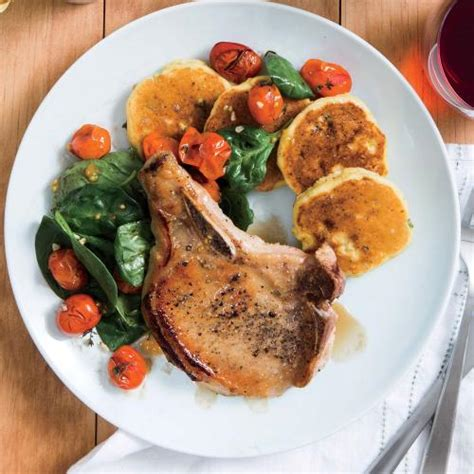 Fast Easy Dinner Chops With Tomatoes by Dinner Tonight And Healthy Menus In 45 Minutes Or