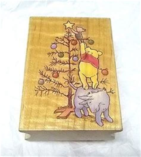 winnie the pooh rubber st classic pooh pooh wreath by all media rubber st