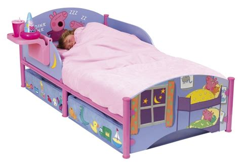 peppa pig bed peppa pig toddler bed frame home design ideas