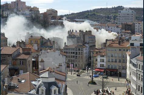 chambre des metiers st etienne loire incendie dans le centre ville de etienne