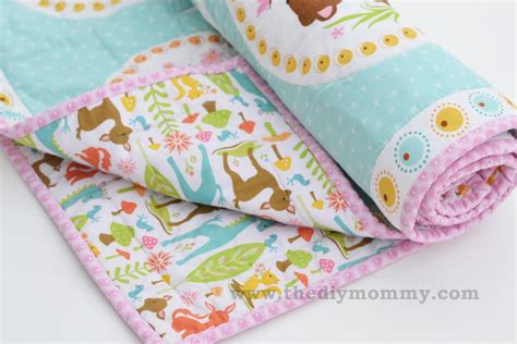 How To Make Baby Quilts For Beginners by Sew An Easy Beginner S Baby Quilt The Diy