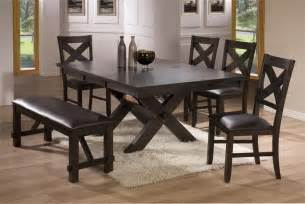 Babcock Furniture Dining Room Sets by Dining Room Tables With Benches Homesfeed