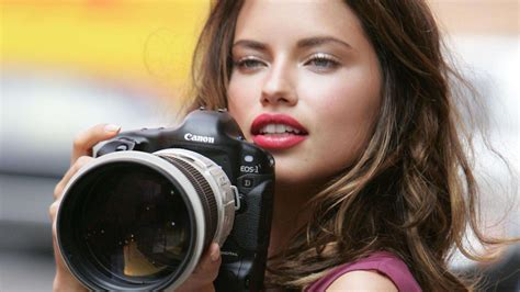 wallpaper camera girl adriana lima canon 1d camera hd wallpaper 187 fullhdwpp