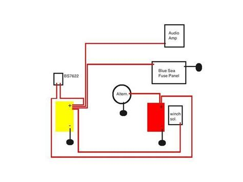 blue sea systems add a battery wiring diagram blue