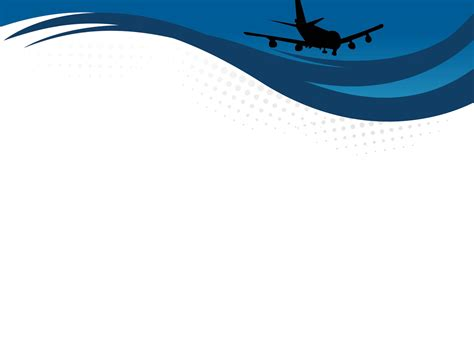 airline powerpoint templates airport on sky powerpoint templates blue car