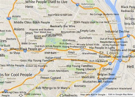 judgemental map of st louis moving to the city this week what is your number one
