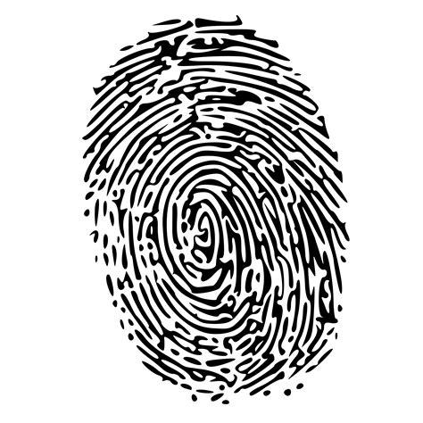 biometric art clipart fingerprint