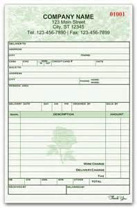 florist invoice template flower shops