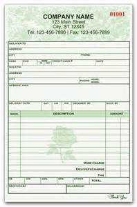 Flower Shop Sales Invoice