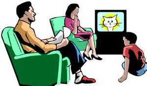 Family Tv Clipart family tv