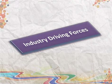 Smt Shantaben Haribhai Gajera Mba Mahila College by Industry Driving Forces