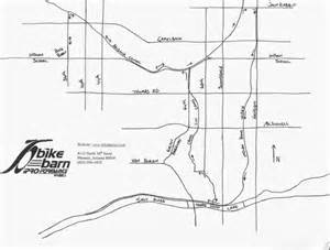 arizona canal map canal tour east area bike ride the bike barn