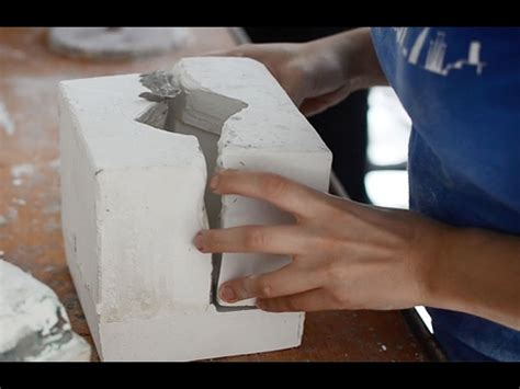 como hacer moldes de yeso  ceramica youtube