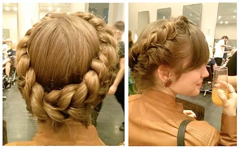 angels hairstyles how to get the hottest braided updo of the summer the