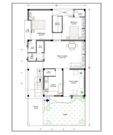 House Design 15 X 60 30 Feet By 60 Feet 30x60 House Plan Decorchamp