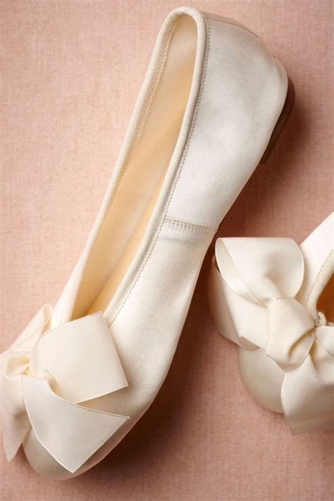 white satin flat shoes shoes white satin bows ballet flats wedding shoes