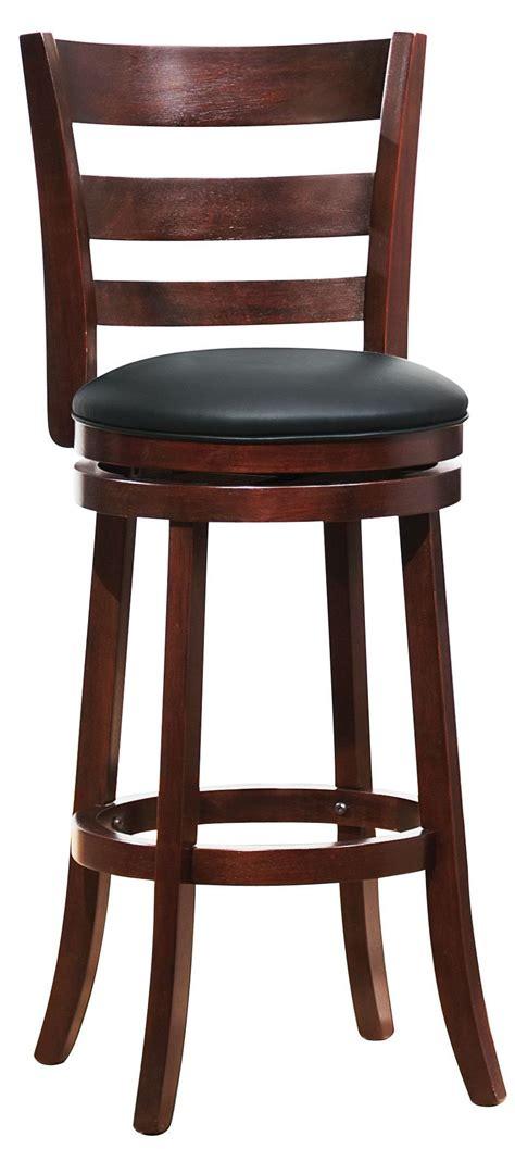 swivel pub chairs edmond swivel cherry pub chair