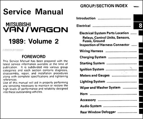 service manual old car repair manuals 1989 mitsubishi eclipse user handbook car repair 1989 mitsubishi van wagon repair shop manual 2 volume set original