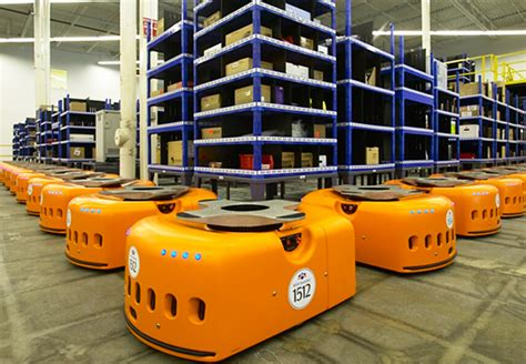 amazon warehouse robots amazon s robotic order fulfillment gt engineering com