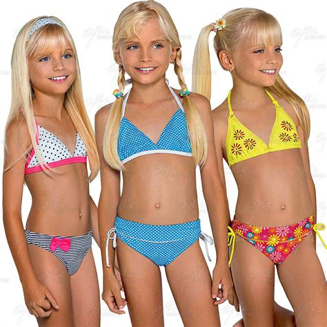 young teenagers ages 11 13 bikinis l464748 girls multicolor printed dots floral bikini age 8