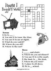 home crossword crosswords for esl