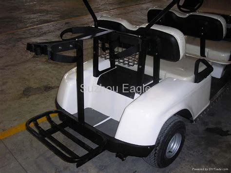 golf cart bag rack ce approved four seater electric golf cart with four golf