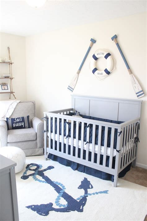 nautical design baby baby boy nautical theme nursery crib bedding and decor