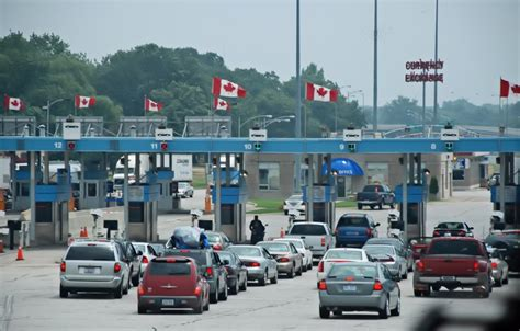 Crossing Border Into Us From Canada With Criminal Record Tdc S Farmgate Crossing The Us Canada Border