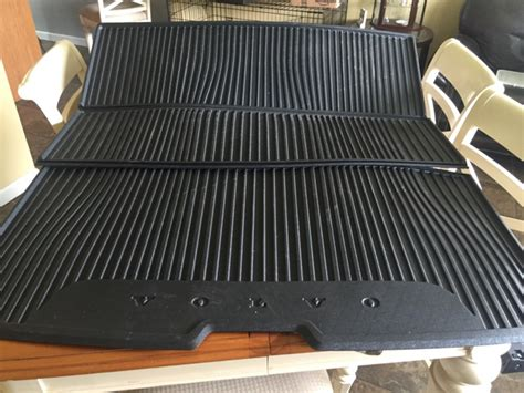 cargo mat for volvo xc90 thread 2016 xc90 oem cargo mat and cargo cover
