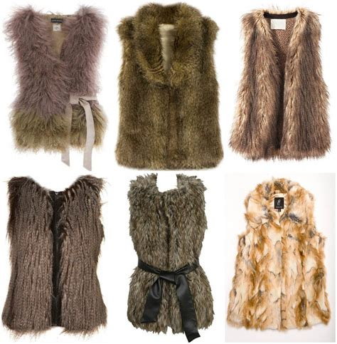 Faux Fur by Style Guide How To Wear Faux Fur Vest Fab Fashion Fix