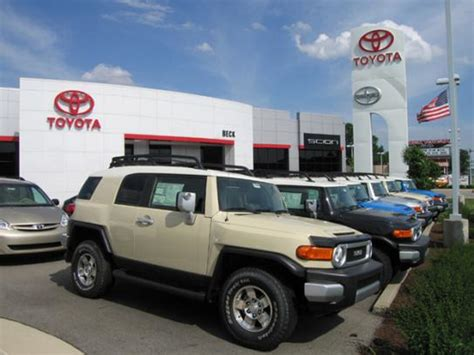 Toyota Dealers Indiana Beck Toyota Indianapolis In 46227 Car Dealership And