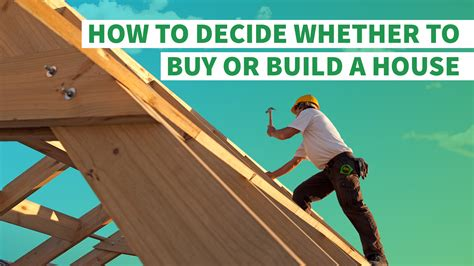 how to get loan to build house how to decide whether to buy or build a house gobankingrates