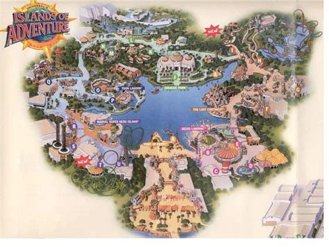 adventure map tickets