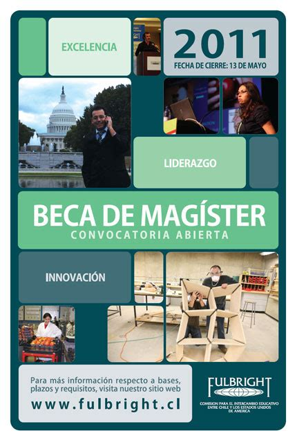 Mba Chile Becas by Convocatorias Abiertas De La Comisi 243 N Fulbright Chile