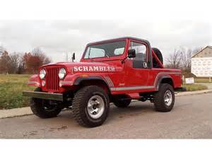 Jeep Wrangler Cj8 Classic Jeep Cj8 Scrambler For Sale On Classiccars