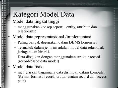 desain database fisik desain database
