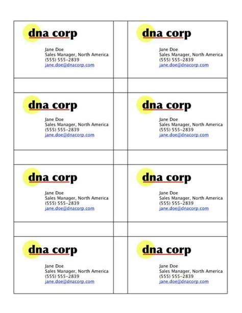 template for avery 8859 business cards best business cards