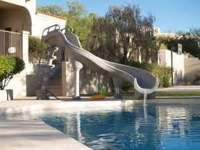 schwimmbad rutsche swimming pool slides royal swimming pools